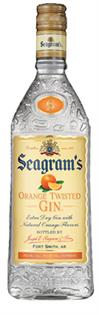 Seagram's Gin Orange Twisted 750ml